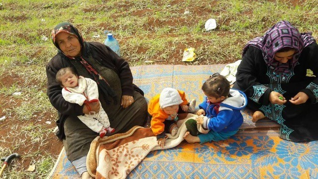 Afrin refugee relief appeal mother and children