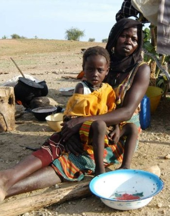 FAIR - African woman and child
